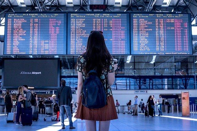 Ztracena na letišti