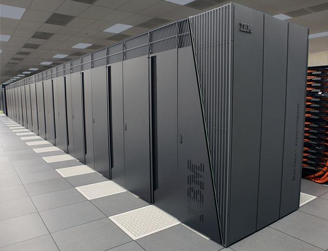 sálový superpočítač