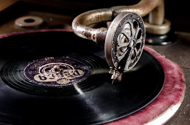 vinylový záznam