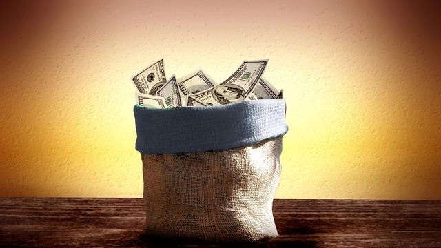 pytel s dolary