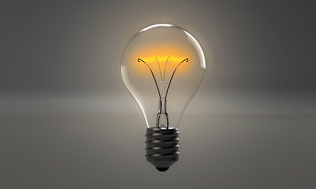 světlo žárovky