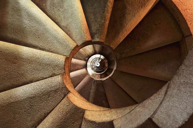 schodiště spirála